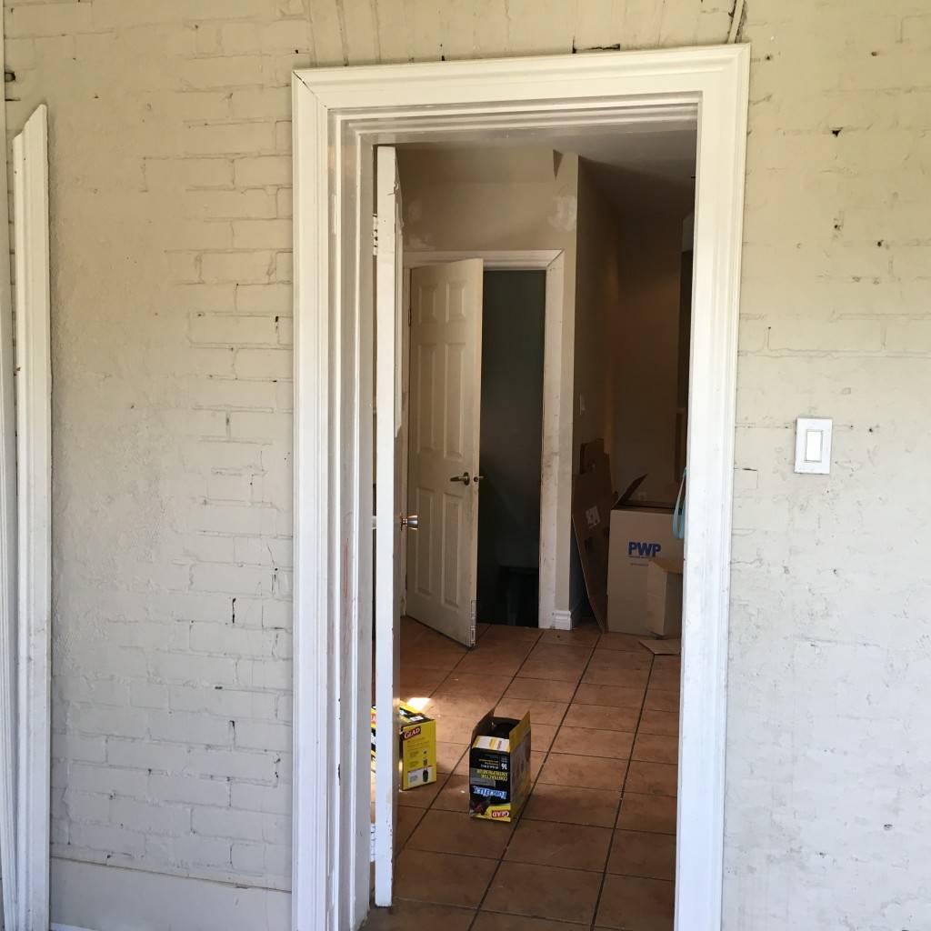 Mud Room Before