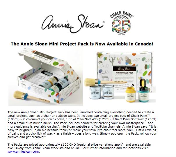 Annie Sloan Chalk Paint Gift Pack