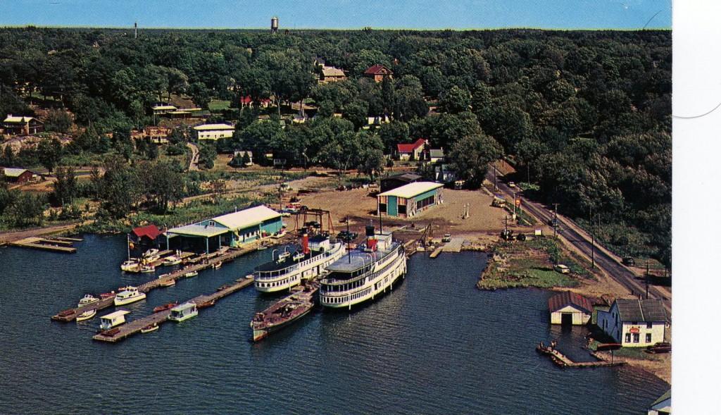 Gravenhurst Wharf 1800s