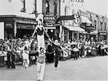 Gravenhurst Parade May 24, 1915