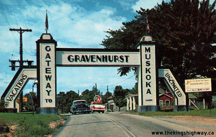 Gravenhurst Gateway Sign Original