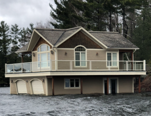 Lake Muskoka Flood 2019:  Ice Wreaks Havoc