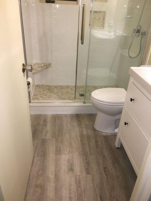 Project Gypsy Bath Floor